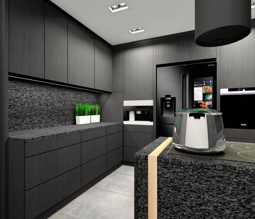 Projekt kuchni, funkcjonalne i piękne wnętrze