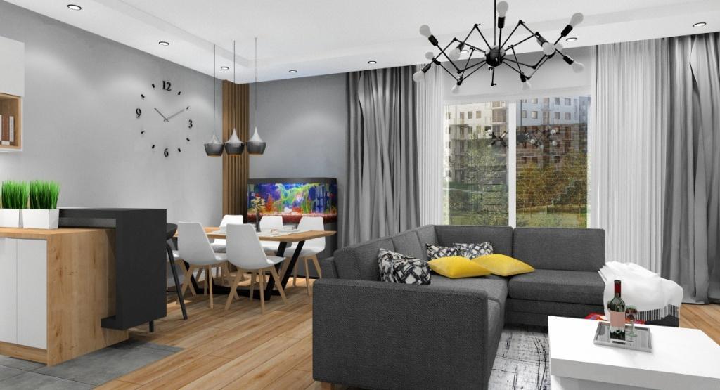 Salon: Projektowanie wnętrz mieszkania: wybór stylu aranżacji
