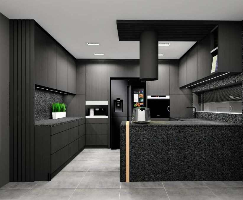 Projekty wnętrz- salony i kuchnie. Urządzanie wnętrz