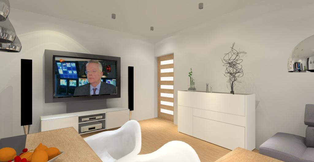 projektowanie salonu online, salon urządzony nowocześnie