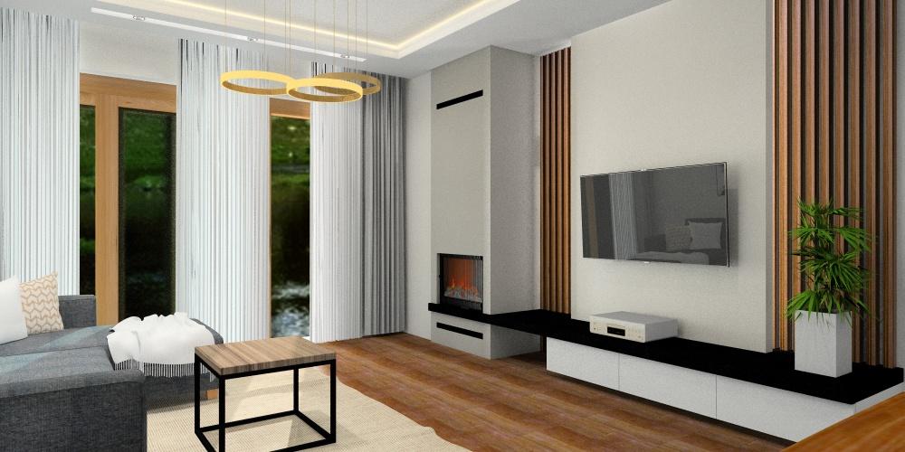 Jak optycznie oddzielić salon od kuchni? A jak optycznie połączyć salon z kuchnią