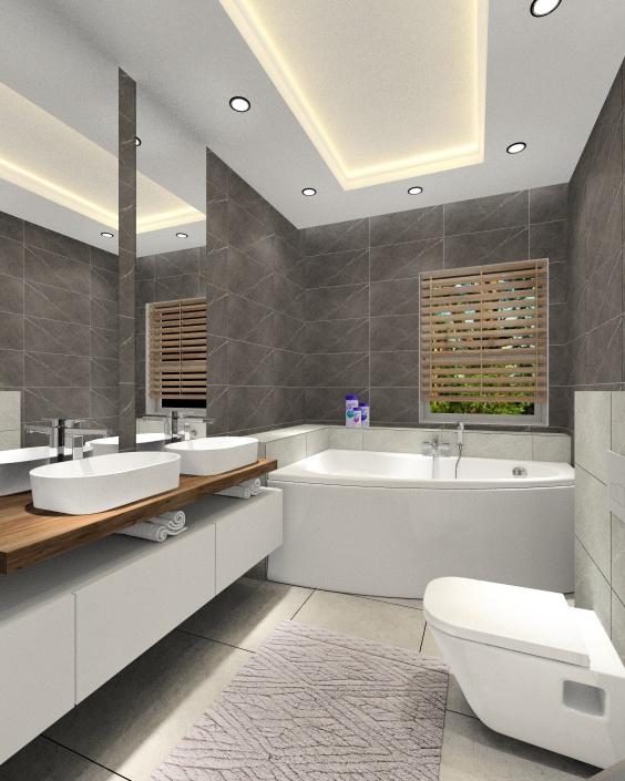 Aranżacja łazienki: projektowanie wnętrz, wystój wnętrz w nowoczesnej odsłonie.