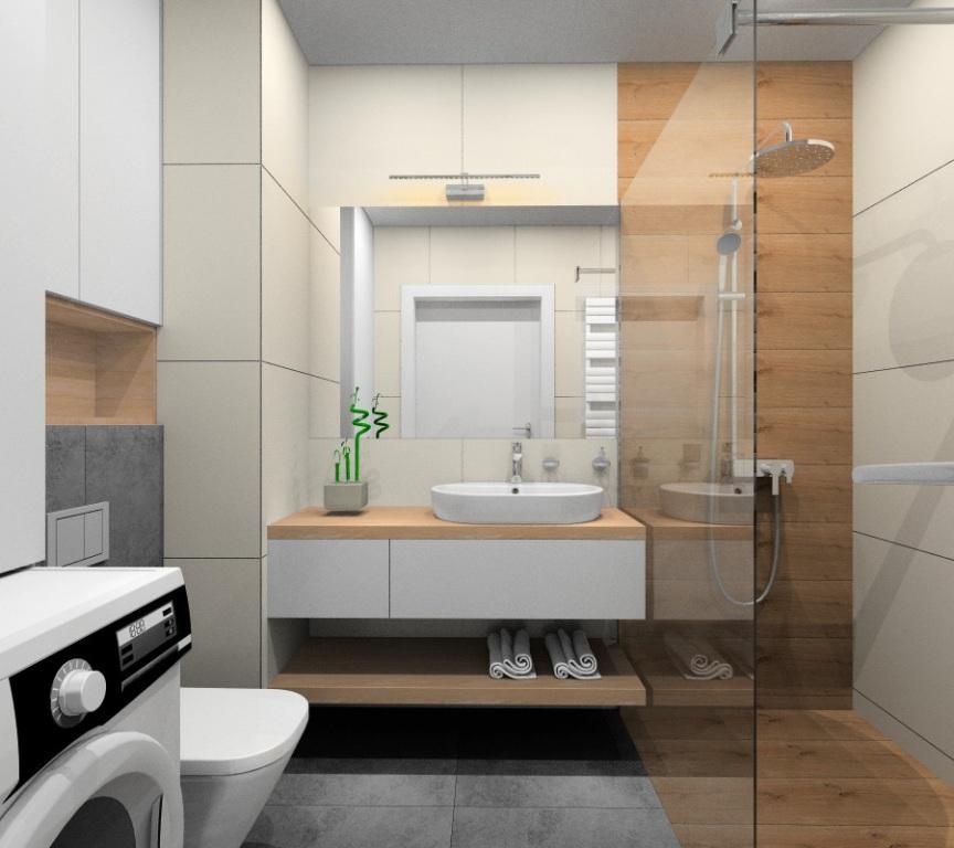 Aranżacja małej łazienki w mieszkaniu