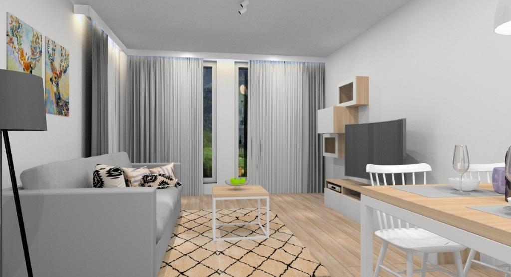 Jak urządzić małe mieszkanie? Aranżacja mieszkania 40 m2 w stylu skandynawskim