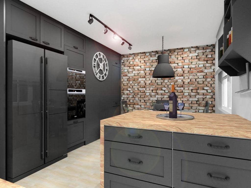 Aranżacja nowoczesnej kuchni: funkcjonalna i estetycznie urządzona kuchnia