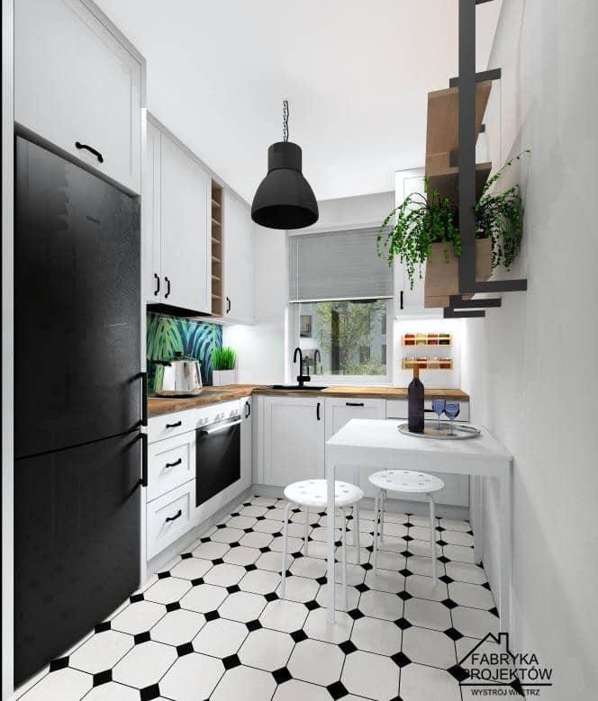 Mała kuchnia w bloku. Zobacz pomysły na aranżacje i projekt wnętrza