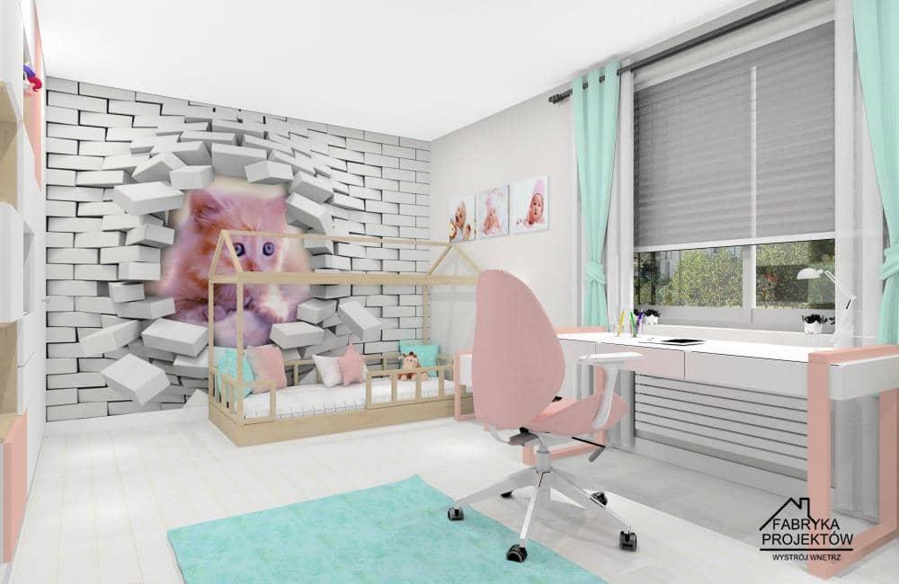 Pomysły na pokój dla dziewczynki: 6 aranżacje i projekty wnętrz