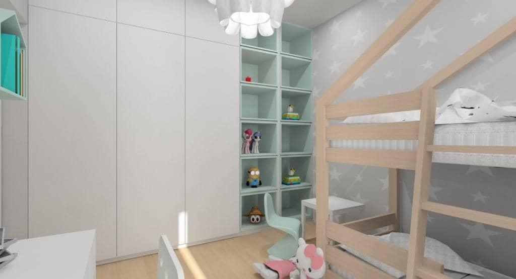 Tapeta na ścianie w pokoju dziecka