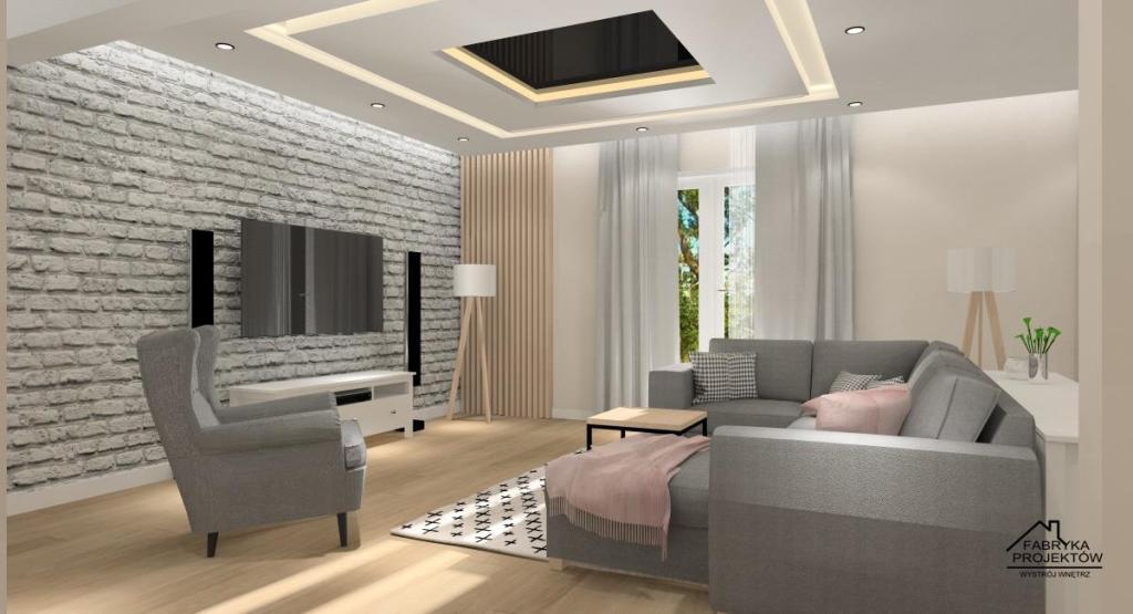 Salon Kuchnia I Jadalnia Zobacz Jak Urządzić Wnętrza W