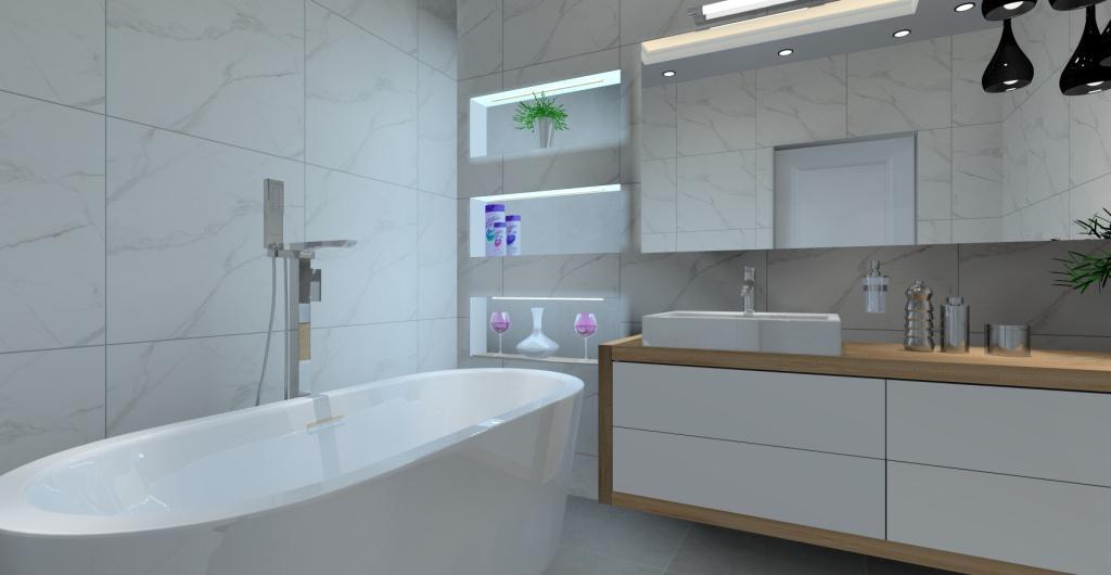 Nowoczesna łazienka Stylowa I Funkcjonalna Przestrzeń