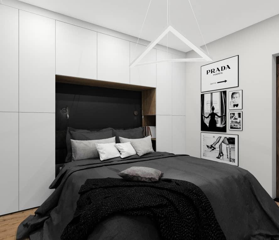 Pomysły na urządzenie sypialni. Aranżacje wnętrz. Projekty wnętrz