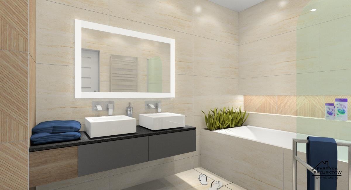 Łazienka urządzona funkcjonalnie i pięknie