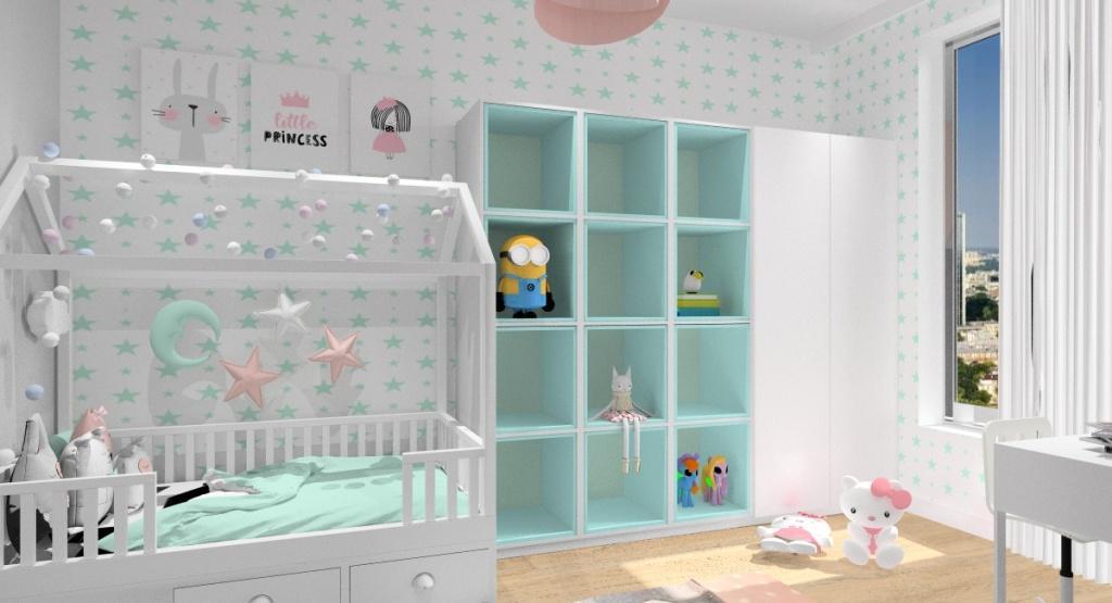 Pokój dziecięcy: jak urządzić pokój dla dziecka ? Aranżacja pokoju dziewczynki