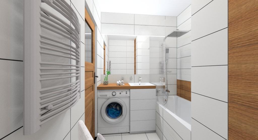Projektujemy łazienkę Mała łazienka Zdjęcia
