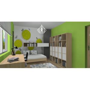 Pokój dla nastolatki w Mikołowie