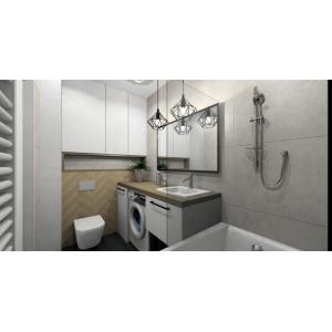 Projekt mieszkania 60 m2 - Mława