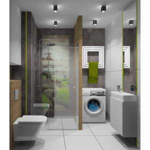 Projekt mieszkania 90 m2