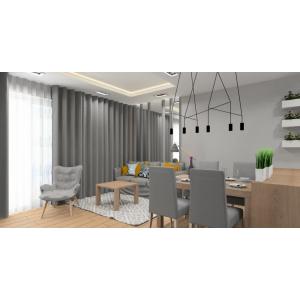 Projekt mieszkania 56 m2