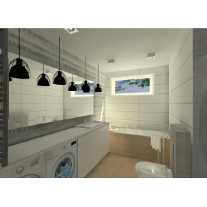 Łazienki: wystrój wnętrz, przykłady - zdjęcia