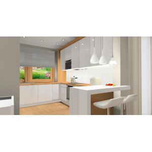 Salony z kuchnią - zdjęcia, przykłady - aranżacje wnętrz