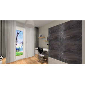 Projekt pokoju dla chłopca, skandynawski styl